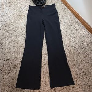 Lucy Perfect Core Black Bootcut Yoga Pants- Small